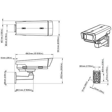 Axis Q1775-E IP-Kamera 1080p T/N PoE+ IP66 IK10