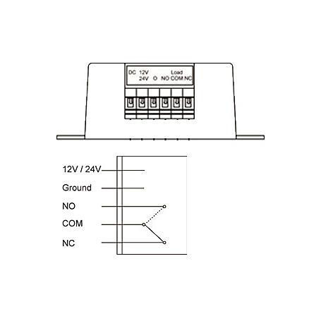 LUPUSEC - 12052 - 12/24V Funkrelais für XT2 Plus