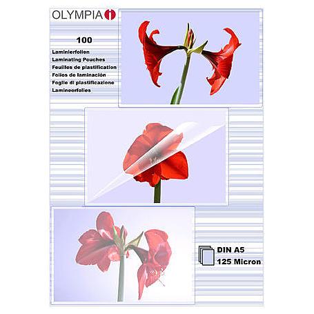 Olympia Laminierfolien DIN A5, 100Stk, 125mic