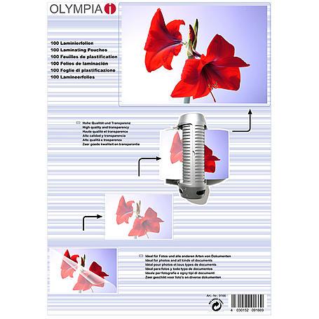 Olympia Laminierfolien DIN A4, 100Stk, 80mic