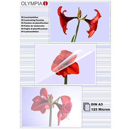 Olympia Laminierfolien DIN A3, 50Stk, 125mic