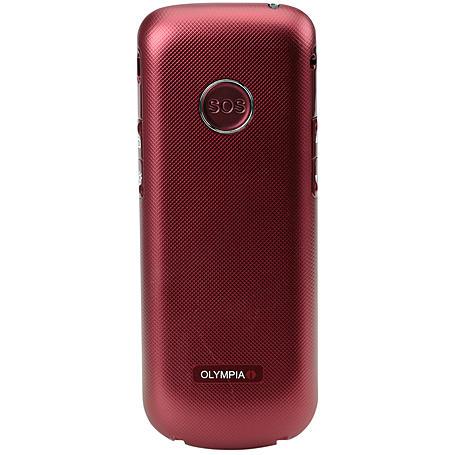 Olympia Großtastentelefon Joy, red
