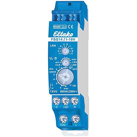 Eltako FS614 Dimmschalter-Steuergerät EVG 1-10V V