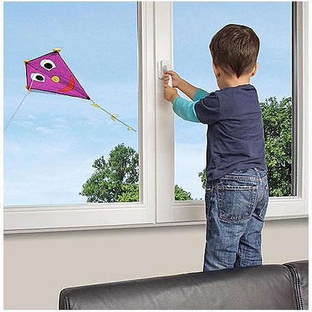 reer WinLock Fenster- und Balkontürsicherung weiß