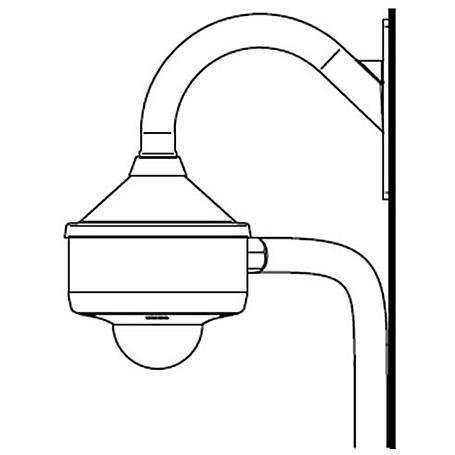 Sony Wandmontage-Halterung Innen/Außen f Fix Domes