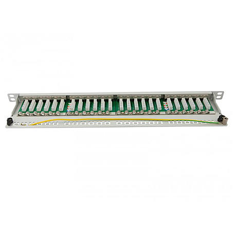 Synergy 21 Patch Panel 24xTP, CAT6A, 500Mhz, 19""