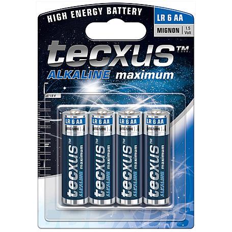 LUPUS Batterie Alkali Mignon AA - 4 Stück