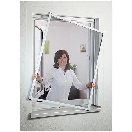 Fensterfliegengitter Master 150 x 160 cm braun