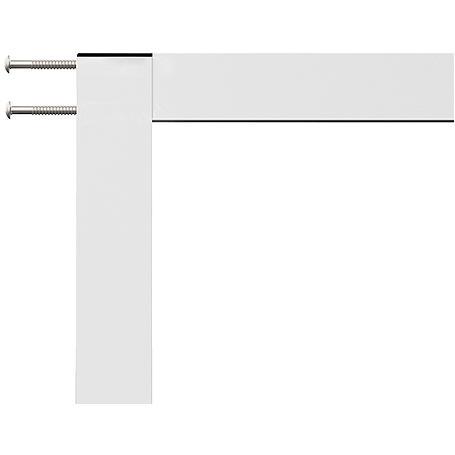 Alu-Fliegengitter Master XL 130 x 220 cm braun