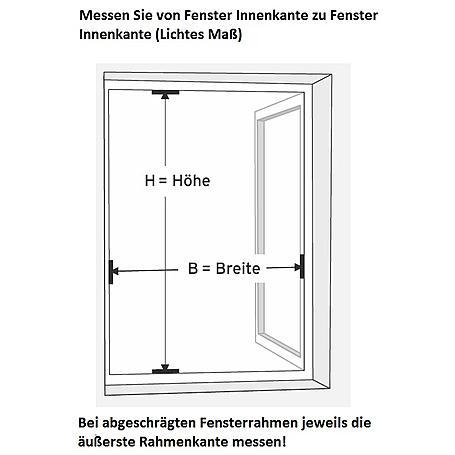 Alu-Fliegengitter Master XL 130 x 220 cm anthrazit