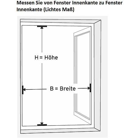 Alu-Fliegengitter Basic 120 x 140 cm braun