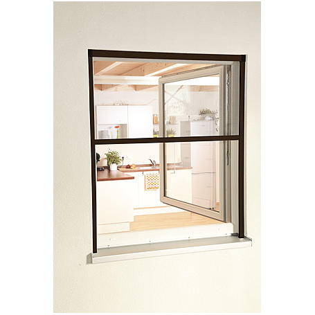 "Alu-Fensterrollo ""Smart"" 130 x 160 cm braun"