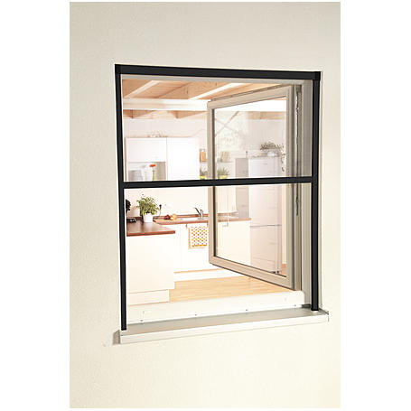 "Alu-Fensterrollo ""Smart"" 130 x 160 cm anthrazit"