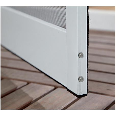 Insektenschutz Türbausatz 100x210cm braun -2er Set