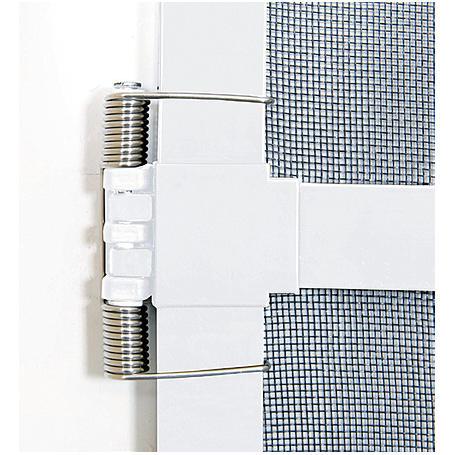 Alu-Tür Bausatz Basic 100 x 210 cm weiß