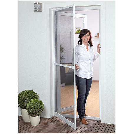 Alu-Tür Bausatz Basic 100 x 210 cm braun