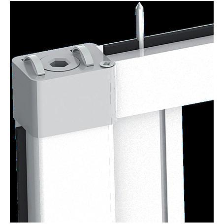 Alu-Türrollo Bausatz 160 x 220 cm weiß