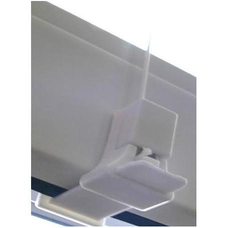 Sonnenschutz Dopp.plissee 90 x 130 cm weiß/beige