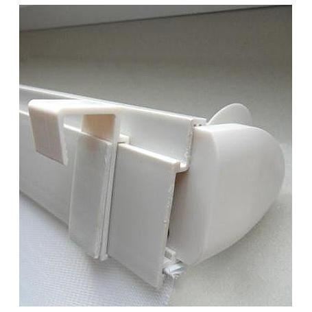 Sonnenschutz Duo-Rollo 100 x 150 cm weiß