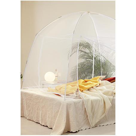 Mobiler Insektenschutz 200 x 180 x 155 cm weiß