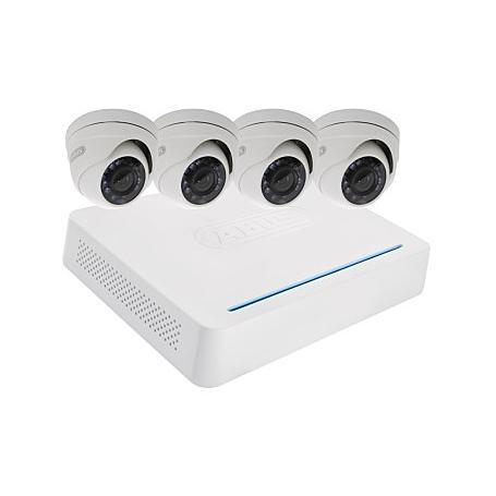 ABUS TVVR33418 HD-Videoset 8-CH Rekorder + 4 Domes