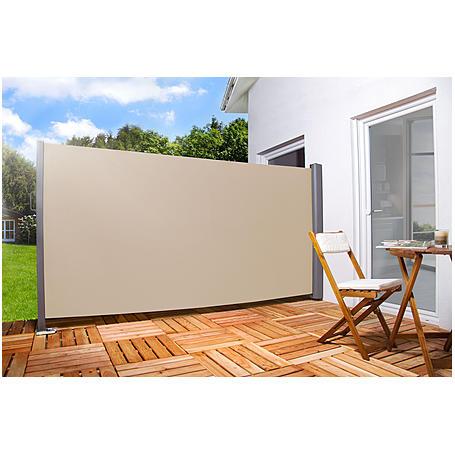 """Seitenmarkise """"creme"""" 160 x 300 cm"""