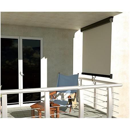 balkon markise anthrazit ca 0 8 m x 3 m expert. Black Bedroom Furniture Sets. Home Design Ideas