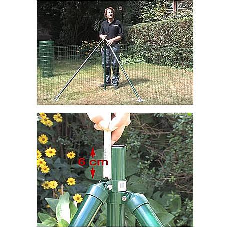 Fix-Clip Pro Set EBH, anth, hoch 1000mm - 25m