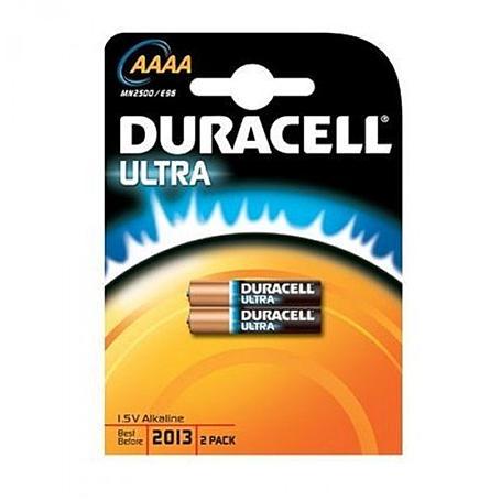 Duracell Alkaline-Batterie 1,5V Ultra-AAAA (Bli.2)