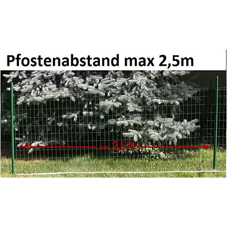 Fix-Clip Pro Zaunpfosten, zE, anth-m Ø34mm 1500 mm