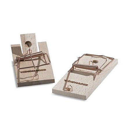 Holz-Mausefalle - 2er Set