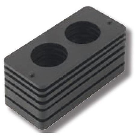 schwarze Falz-Unterlagen für Abus PR2600 PR2700
