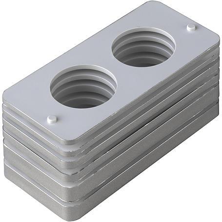 graue Falz-Unterlagen für ABUS PR2600 PR2700