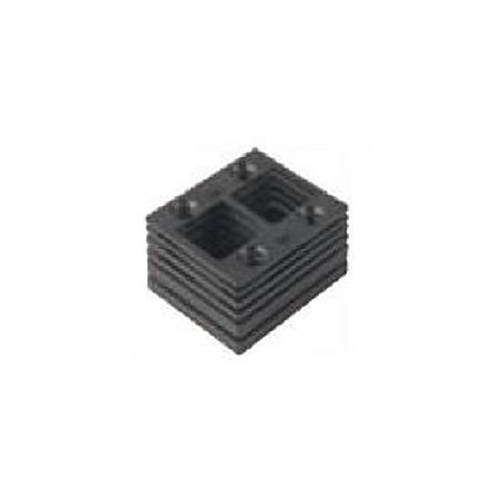 schwarze Falz-Unterlagen für Abus PR1400 PR1500