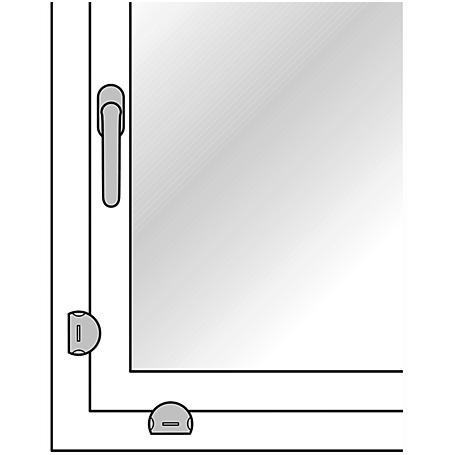 FSB Aufhebelsicherung 34 3416 Aluminium F1