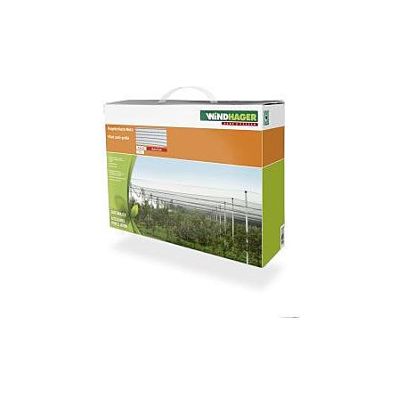 Hagelschutz-Netz 5x4m grün 8mm