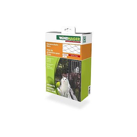 Katzenschutz-Netz 2,5x4m schwarz
