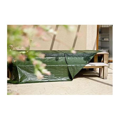 Schutz-Plane MEDIUM 10x12m, 100g/m², grün