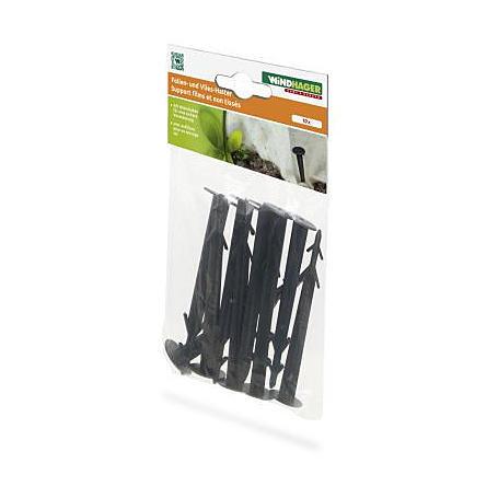 Folien- & Vlieshalter 11,5cm, 10 Stück, schwarz