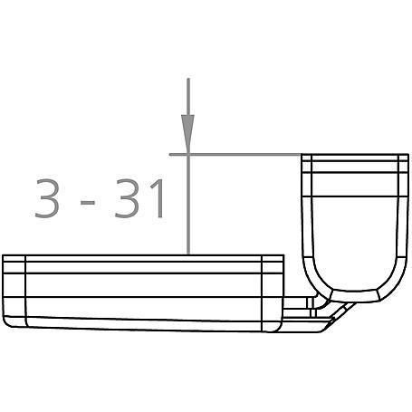 BurgWächter Winsafe WS 44 W SB - 3er Set