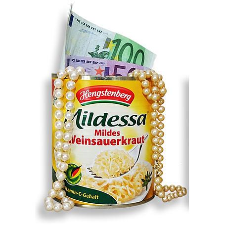 Dosentresor Mildessa Sauerkraut - Geheimversteck