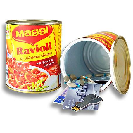 Dosensafe Maggi Ravioli Konservendose - Geheimfach