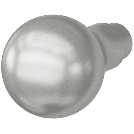 FSB Knopfdrücker Lochteil 08 0844 Aluminium F1
