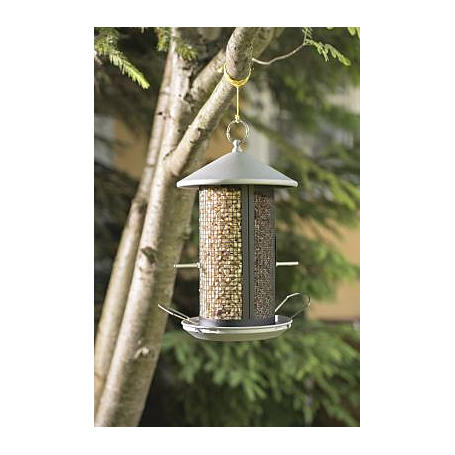 Vogelfuttersilo HAPPY BIRD, 19x26x31cm