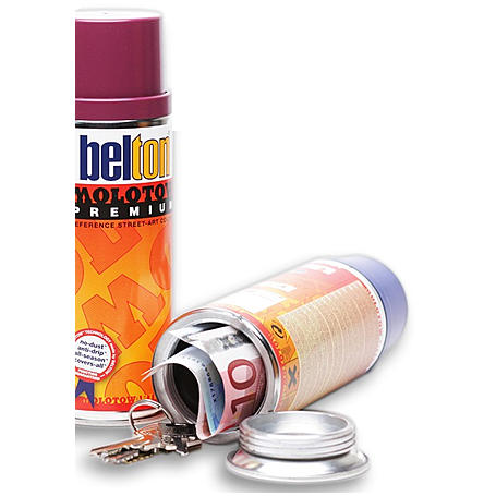 Geheimversteck im Dosensafe Belton Spraydose