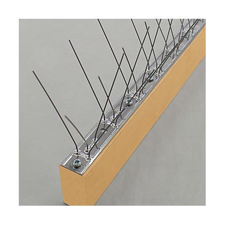 Taubenabwehr SPIKE, 3-reihig, 10x60x5,8 cm