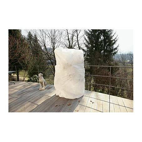 Winter-Vlieshaube PROTECT XXL, 1,5x2m, 50g/m²,weiß