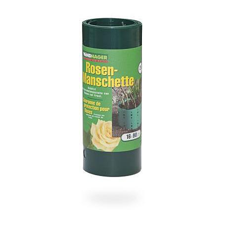 Rosen Manschette 2 Stück,  16x90cm, grün