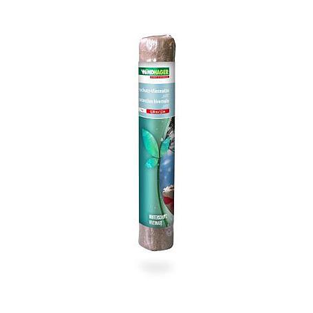 Winterschutz-Vliesmatte 38x150cm, 300g/m², natur