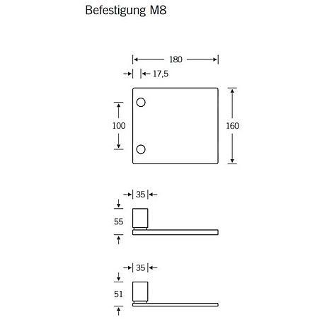 FSB Stoßgriff 61 6108 Aluminium F1